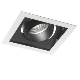 Spoturi tavan fals - Spot LED incastrabil, directionabil APOLLO 30W 3000K