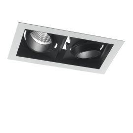 Spoturi tavan fals - Spot LED incastrabil, directionabil APOLLO 2 x 10W 3000K
