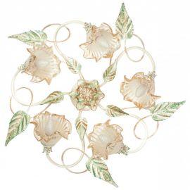 Candelabre, Lustre - Lustra aplicata eleganta design clasic floral 5 brate I-PRIMAVERA