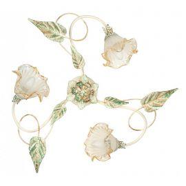 Plafoniere - Lustra aplicata eleganta design clasic floral 3 brate I-PRIMAVERA