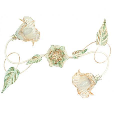 Plafoniere - Lustra aplicata eleganta design clasic floral 2 brate I-PRIMAVERA