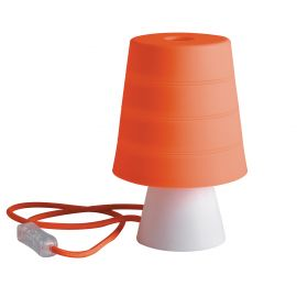Iluminat pentru copii - Veioza / Lampa de masa camera copii Drum portocalie