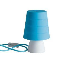 Veioza / Lampa de masa camera copii Drum albastra