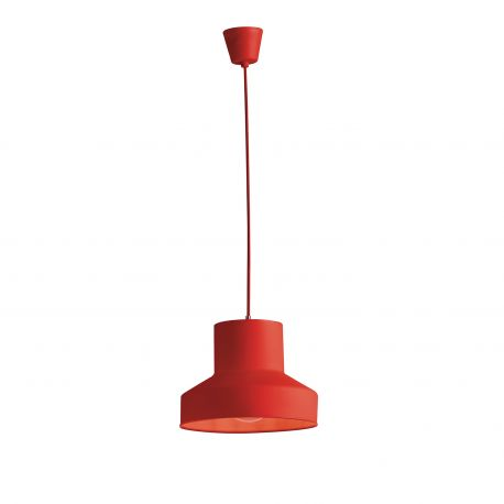 Iluminat pentru copii - Pendul modern camera copii / tineret LENNON rosu