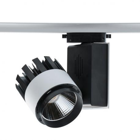 Spoturi, Proiectoare pe sina - Spot LED directionabil pe sina Rondo II negru/alb 30W
