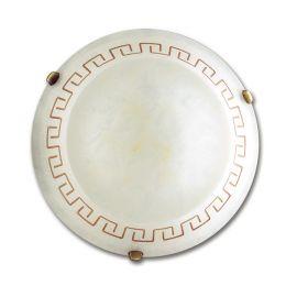 Plafoniere - Plafoniera clasica sticla decorata Trecento Ø40cm