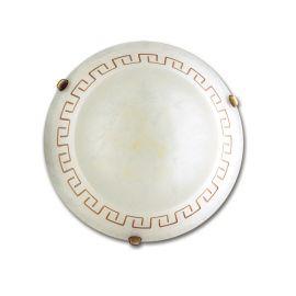 Plafoniera clasica sticla decorata Trecento Ø30cm