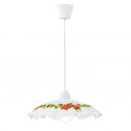 Pendule, Lustre suspendate - Lustra / Pendul sticla decorativa Ø42cm RIBES