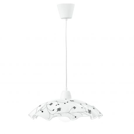 Pendule, Lustre suspendate - Lustra / Pendul sticla decorativa Ø42cm ROOT