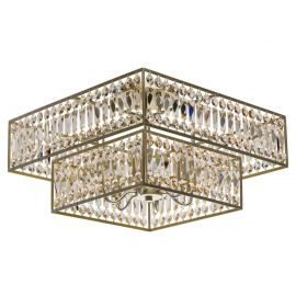 Lustre aplicate - Lustra aplicata cristal design elegant Monarch 60x60cm