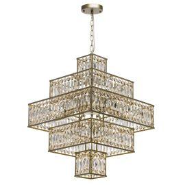 Candelabre, Lustre - Candelabru / Lustra suspendata cristal design elegant Monarch