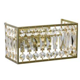 Aplice, corpuri de iluminat pentru pereti - Aplica de perete cristal design elegant Monarch