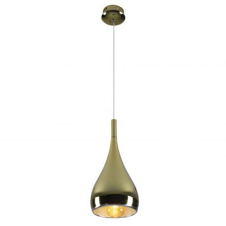 Pendule, Lustre suspendate - Pendul design modern scandinav Ø18cm VIGO auriu