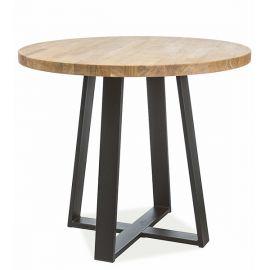 Mese dining - Masa rotunda in stil Loft, VASCO 80cm