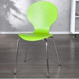 Set de 4 scaune Form verde