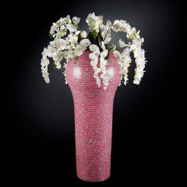Aranjament floral mare NEW DELHI MOSAICO BISAZZA BABY PINK, 160cm
