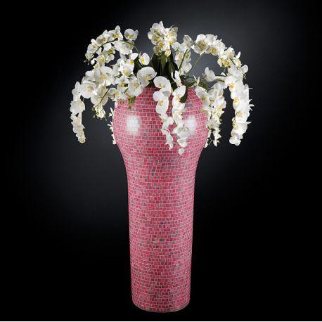 Aranjamente florale LUX - Aranjament floral mare NEW DELHI MOSAICO BISAZZA BABY PINK, 160cm