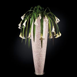 Aranjament floral PARIS MOSAICO BISAZZA, pink 210cm