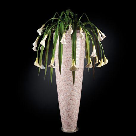 Aranjamente florale LUX - Aranjament floral PARIS MOSAICO BISAZZA, pink 210cm