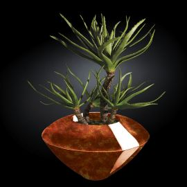Aranjamente florale LUX - Aranjament floral CAIRO RADICA, maro 150cm