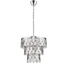 Candelabre, Lustre - Lustra moderna suspendata design elegant Ø39cm ANZIO