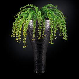 Aranjamente florale LUX - Aranjament floral mare TORONTO MOSAICO BISAZZA, negru 160cm