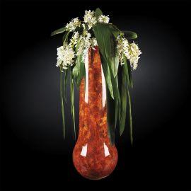Aranjament floral mare MOSCA RADICA, maro 200cm