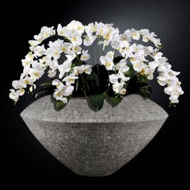 Aranjamente florale LUX - Aranjament floral mare VENEZIA MOSAICO BISAZZA, gri