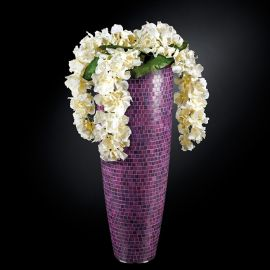 Aranjamente florale LUX - Aranjament floral mare OSLO MOSAICO BISAZZA, violet 130cm