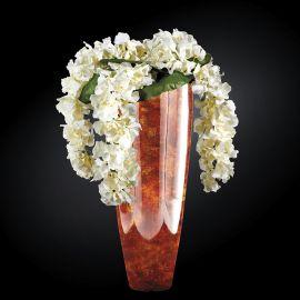 Aranjamente florale LUX - Aranjament floral mare OSLO RADICA, maro 130cm
