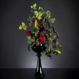 Aranjament floral elegant, design LUX ERACLE SCULPTURE