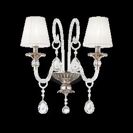 Aplice, corpuri de iluminat pentru pereti - Aplica clasica design deosebit Romantik AP2