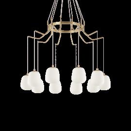 Candelabre, Lustre - Lustra cu 10 pendule design modern KAROUSEL SP10