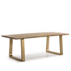 Mese dining - Masa eleganta design LUX Wood, 220x95cm