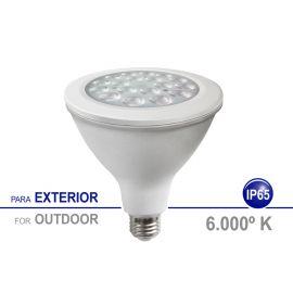 Bec LED E27 pentru exterior IP65, 18W 6000K lumina rece SPOT LIGHT PAR