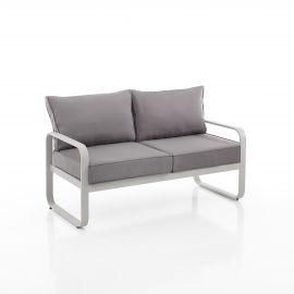 Canapea 2 locuri pentru interior si exterior ISCHIA gri