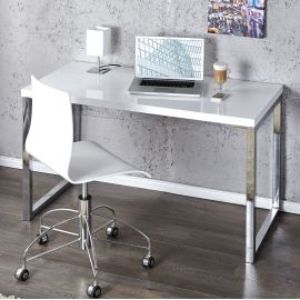 Birou White Desk 120x60cm