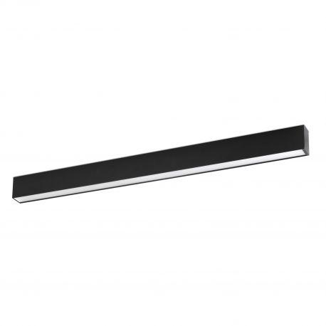 Lustre / Pendule spatii comerciale - Lustra LED aplicata VIA 112CM 23W 4000K, negru