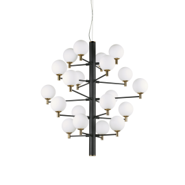 Candelabre, Lustre - Candelabru design modern COPERNICO SP20 NERO