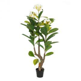 Ghivece - Planta artificiala decorativa Plumeria, H-165cm