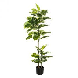 Planta artificiala decorativa Stejar Verde, H-132cm