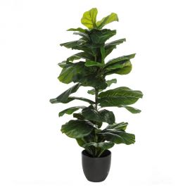Ghivece - Planta artificiala decorativa Ficus Verde, H-110cm