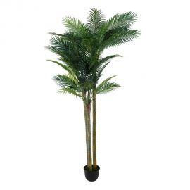 Planta artificiala decorativa Palmier Verde, H-300cm
