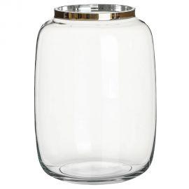 Vas decorativ, Vaza eleganta din sticla