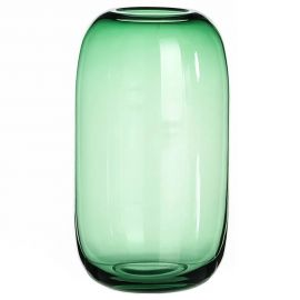 Vas decorativ, Vaza eleganta din sticla verde