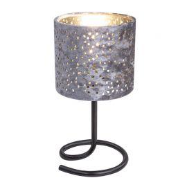 Veioze - Veioza catifea argintie NORRO