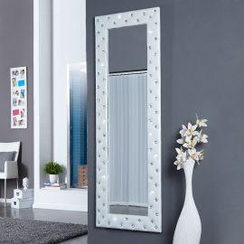 Oglinda decorativa Boutique alba
