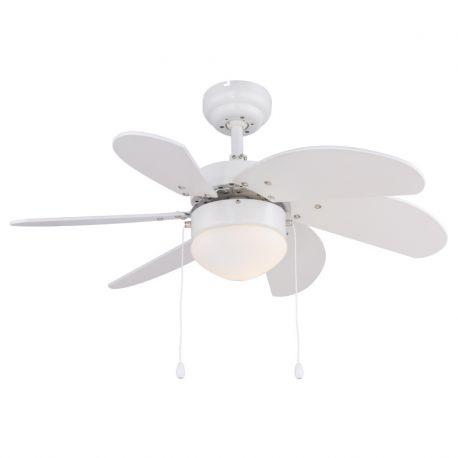 Lustre cu ventilator - Lustra cu Ventilator RIVALDO alb