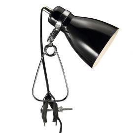 Lampi birou - Veioza, Lampa cu clip Cyclone neagra