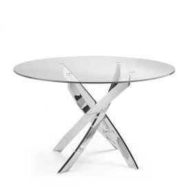Masa rotunda design modern Veola, 110cm
